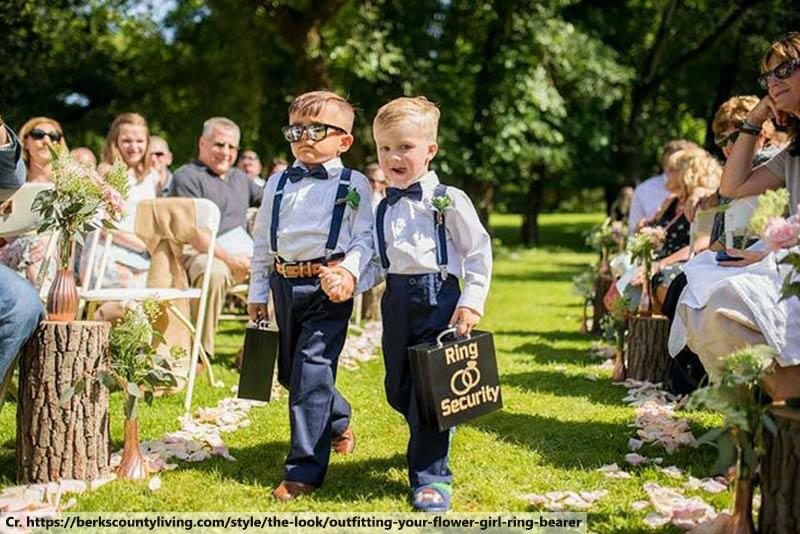 Ring Bearers, Ring Bearer Kid, Kid in Wedding