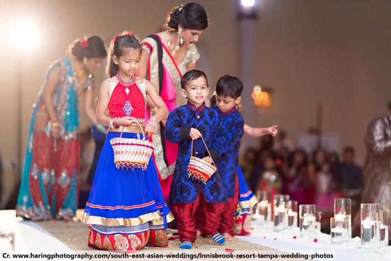 phuket wedding, indian wedding in phuket, indian kids